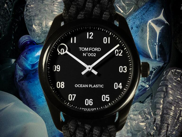 海洋プラスチックごみから生まれた トム フォードの革新的な腕時計